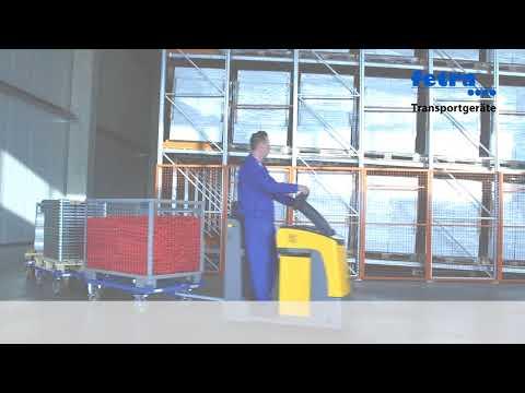 Fetra Paletten Fahrgestell als Routenzug für Gitterboxen und Flachpaletten-youtube_img