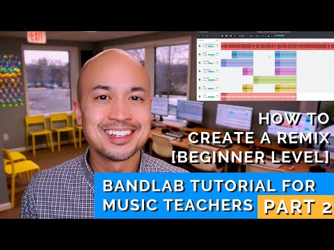 How To Create a Remix With Free Software [Bandlab Tutorial - Part 2]