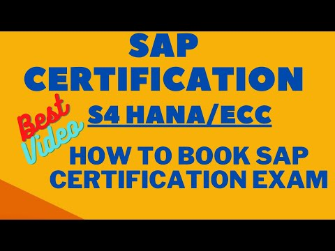 SAP Certification  How to take SAP Certification Exam  How to ...