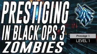 Prestiging in Black Ops 3 Zombies (Prestige 1)