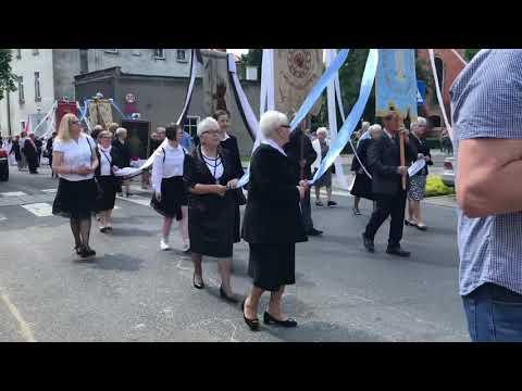 Wideo1: Procesja Bożego Ciała w Lesznie