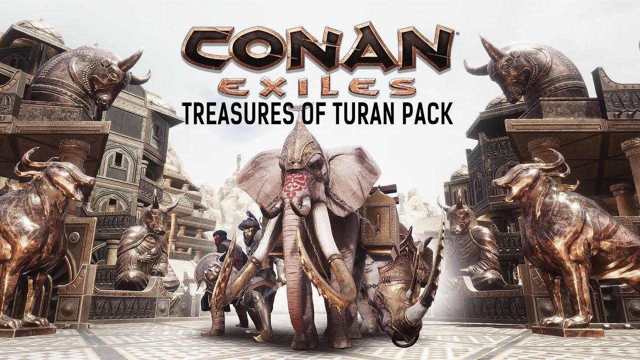 Arriva il nuovo DLC di Conan Exiles, Treasures of Turan, e il nuovo Season Pass