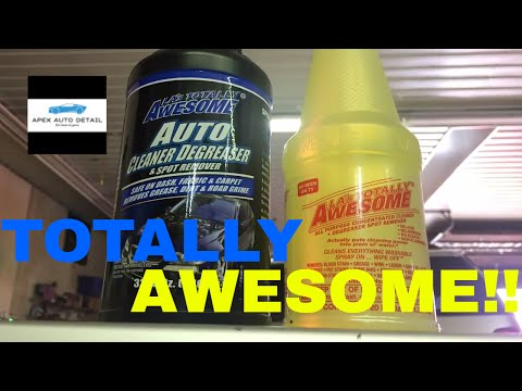 LA's TOTALLY AWESOME Cleaner and Degreaser!! No Acid, No Ammonia, No Bleach!!