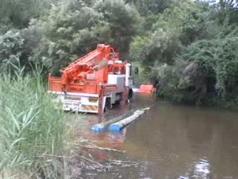 TrakMats Creek Crossing Project near Sydney Australia