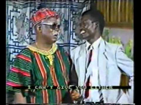 Classic funny LATE BABA SALA [RIP] in AGBA MAN
