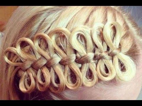 French Bow Braid Tutorial! -Beautyfirst- (видео)