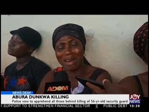 Abura Dunkwa Killing - News Desk on JoyNews (24-9-18)