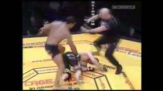 Three classic KO 'Cage Rage' fights