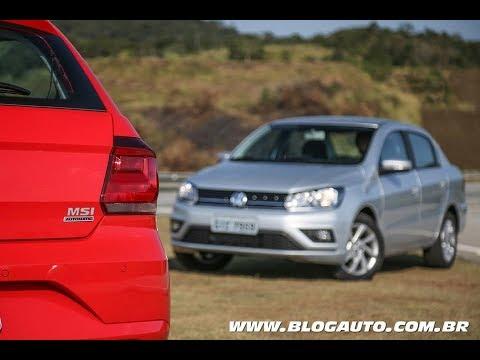 🚗 Tudo sobre os novos VOLKSWAGEN GOL E VW VOYAGE 2019 AUTOMÁTICO - BlogAuto
