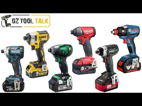 18V Brushless Impact Driver Shootout – Makita, Milwaukee, Dewalt, Bosch, Hitachi, Metabo