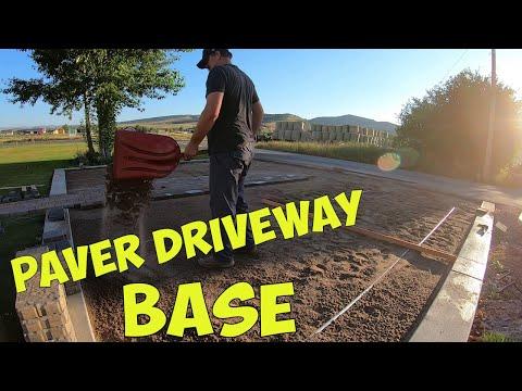 , title : 'Preparing Paver Driveway Base'