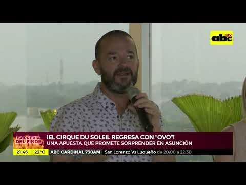 """El Cirque du Soleil vuelve al Paraguay con """"Ovo"""""""
