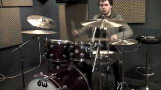 """Right where i Belong"" 3 Doors Down DRUM COVER Daniel Farley"