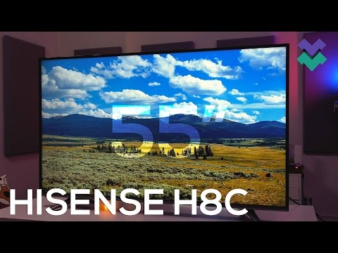 Hisense H8C Review: Best Budget 55″ 4K HDR TV for $550!?