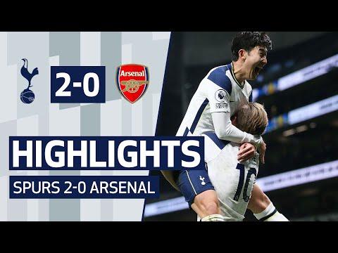HIGHLIGHTS | SPURS 2-0 ARSENAL | Son's wonder goal & Kane becomes top north London derby scorer!