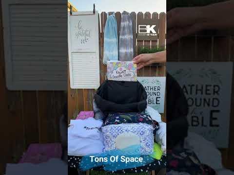 Baby K'tan Sojourn Backpack Diaper Bag  - Tie Dye