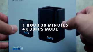 GoPro Dual Battery Charger Plus Battery Kit - First Look