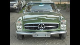 A great Mercedes Benz 280SL at Autotraderimports