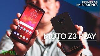 Moto Z3 Play, PRIMERAS IMPRESIONES en México