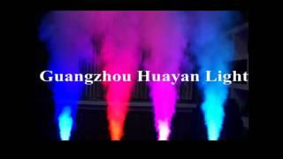HY-UP1500LED Super Power DMX 1500w DJ UP Fog Machine Flame Fire LED Light Effect Smoke Producer