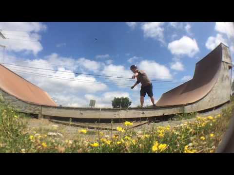 Bangor Skate Park 2018  - Transition - The Skateboarding Accountant