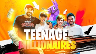 BECOMING A TEENAGE MILLIONAIRE AT THE FORTNITE WORLD CUP!