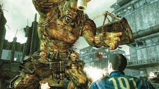 Fallout 3 - The EXTERMINATION Of All 5 Super Mutant Behemoths - VERY HARD