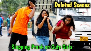 Slapping Prank Deleted Clips or Unseen Parts😲😲 PrankBuzz