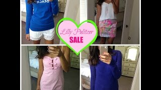 Lily Pulitzer SALE Haul & Try On!