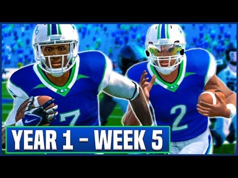 NCAA Football 14 Teambuilder Dynasty Year 1 - Week 5 vs Hawaii | Ep.8