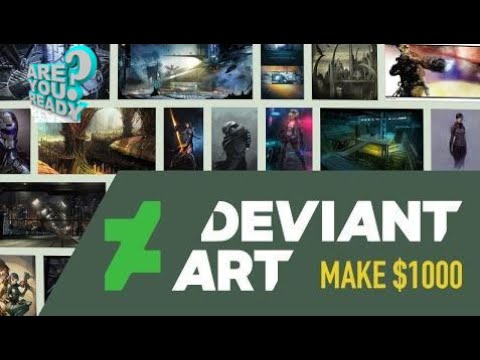 How to make money online || Make $1000 On DeviantArt | Making Money Online As An Artist