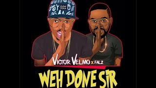 Wehdon Sir Falz cover  by Victor Velmo