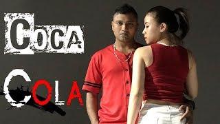 COCA COLA | Luka Chuppi | Neha Kakkar, Tony Kakkar | Young Desi | Santosh Konathala SK Choreography