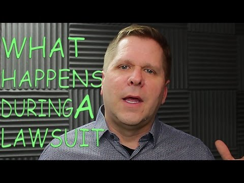Video - What Happens During a Lawsuit