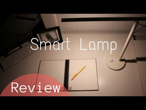 Xiaomi Smart Lamp Review: Futuristic, Minimalistic Desk Light (iPhone and Android Controlled Lights)