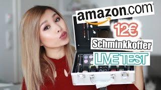 TOP ODER FLOP? 12€ AMAZON SCHMINK KOFFER LIVE TEST! l Kisu