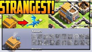 TOWN HALL 3 ELECTRO DRAGON! STRANGEST Villages in Clash of Clans!