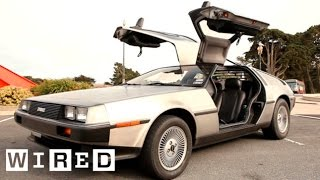 Author Gives Away DeLorean (with Flux Capacitor)