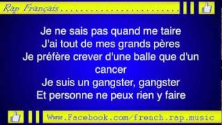Booba-Gangster (Paroles) High Quality Mp3 2011 (Lyrics)