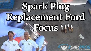Spark Plug Replacement Ford Focus 1999-2007