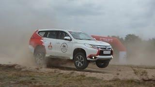 Серийный Mitsubishi Pajero Sport отжигает