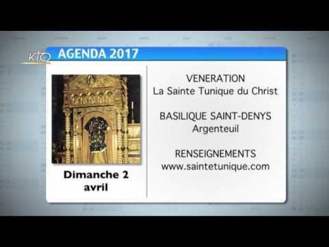 Agenda du 17 mars 2017