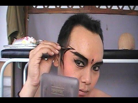 Video Tips Tutorial MAKE UP Tari Jawa Halus - Learning Javanese Dance Make Up [HD]