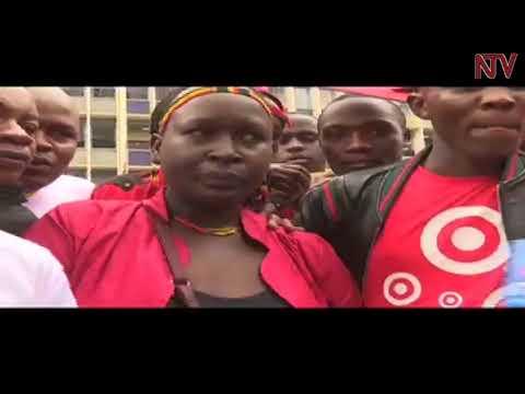 Kenyans hold protests, ask President Museveni to free Bobi Wine