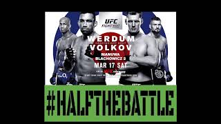UFC London: Werdum vs Volkov Bets, Picks, Predictions on Half The Battle (UFC Fight Night 127)
