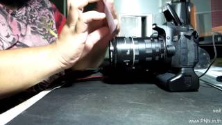 2012/03/19 - Phorography - Cheap Macro Extension Tube for Canon Unboxing & Preview(Thai)