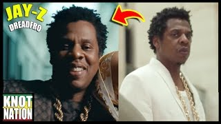 Jay-Z's Freeform Dreadlocks