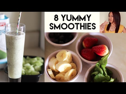 Video 8 Energy Boosting Smoothies