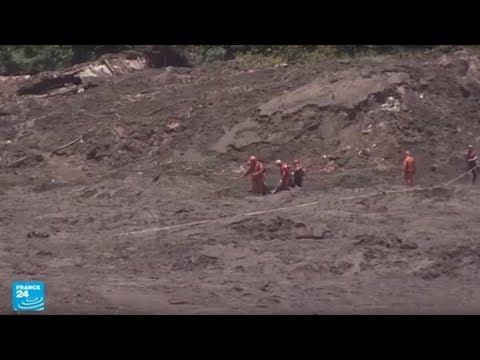 العرب اليوم - شاهد: ارتفاع ضحايا انهيار سد منجمي في البرازيل إلى 99 قتيلًا