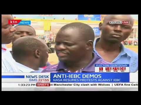Kisumu senator Prof. Anyang' Nyong'o issues directives that demos be only held between 9 a.m and 1 p